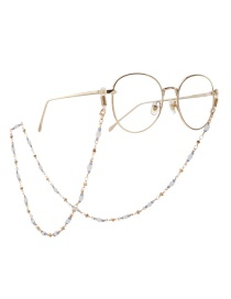 Fashion Gold Beaded Chain Crystal Bead Chain