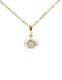 Fashion Gold 7d Shaped Pearl Necklace