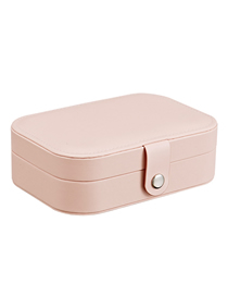 Fashion Orange Powder Multifunctional Jewelry Box