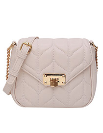 Fashion White Chain Shoulder Bag Shoulder Bag