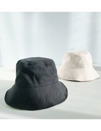 Fashion Cotton Double Sided Black Double-sided Big Fisherman Hat