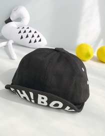 Fashion Oh!boy Black Children's Baseball Cap