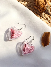 Fashion Pink Love Ocean Shell Earrings