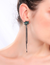 Fashion Tassel Earrings 925 Sterling Silver Tassel Earrings