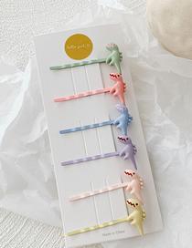 Fashion Macarons / 6 Little Dinosaur Clip