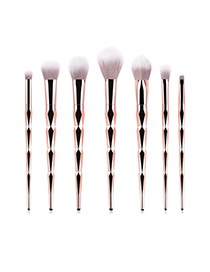 Fashion Purple Betel 7-pack Diamond Makeup Brush