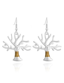 Fashion Life Tree Earrings Life Tree Ear Hook