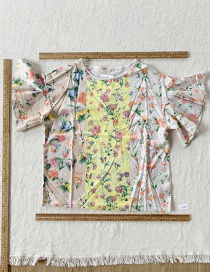 Fashion Color Printed Top