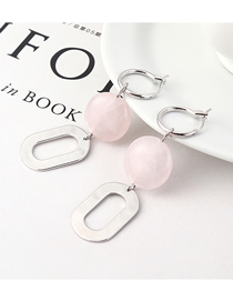 Fashion Platinum Gold Plated Small Circle Earrings Stud Earrings