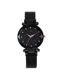 Fashion Black Tape Star Watch  Electronic Element