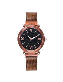 Fashion Bronze Star Tape Watch