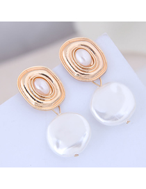 Fashion Gold Metal Shell Beads