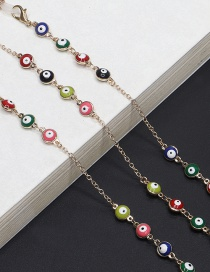 Fashion Gold Real Gold Plating Eye Chain Metal Glasses Chain