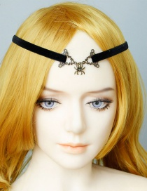 Fashion Black Spider Hair Band