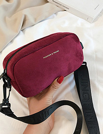 Red Letter Broadband Shoulder Crossbody Bag