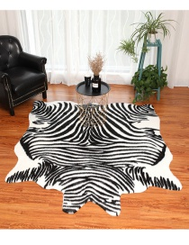 Fashion Zebra Large Simulation Of The Entire Cowhide Carpet