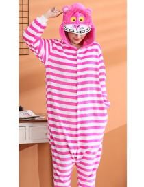 Cheshire Cat Flannel Cartoon One-piece Pajamas