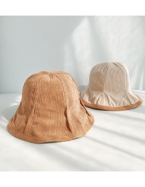 Fashion Corduroy Double-sided Camel Corduroy Pit Strips On Both Sides Wearing Fisherman Hats