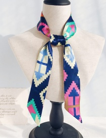 Fashion Lego Diamond Long Narrow Scarf