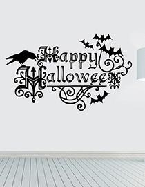 Fashion Multicolor Kst-3 Halloween Wall Sticker
