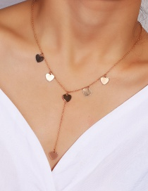 Fashion Gold Love Necklace