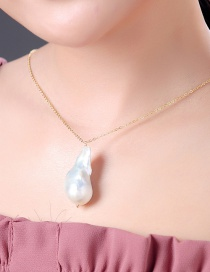 Fashion Gold Pearl Necklace