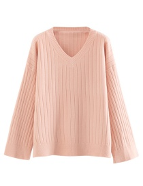 Fashion Pink Bottoming Sweater