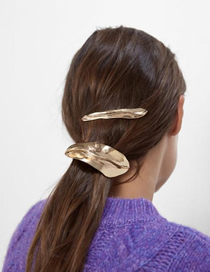 Fashion Gold Alloy Geometry Hair Clip Set