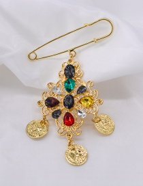 Fashion Gold Beauty Brooch