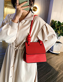 Fashion Red Shoulder Messenger Bag