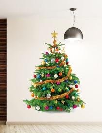 Vinilo Decorativo Árbol De Navidad