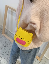 Fashion Yellow Cartoon Animal Children's Messenger Bag