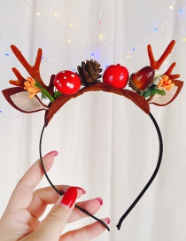Fashion Antlers Forest Christmas Moose Headband