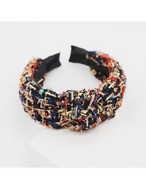 Fashion Color Cloth Geometric Headband