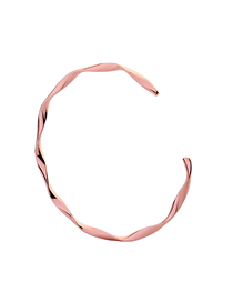 Fashion Pink Irregular Geometric Bracelet