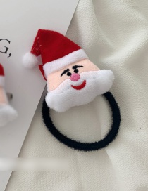 Fashion Hair Rope - Santa Claus Christmas Hairline Hair Clip