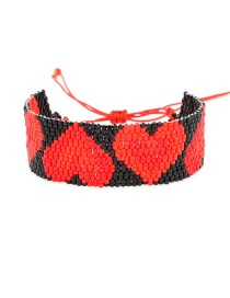 Black Beizhu Weaving Love Bracelet