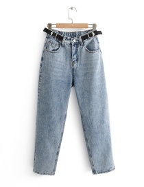Fashion Blue Washed Jeans