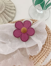 Fashion Large-purple Flower Hairpin