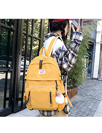 Fashion Yellow Label Backpack
