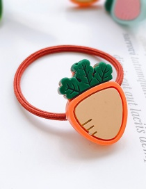Fashion Orange Carrot-hair Rope Carrot Child Hair Rope
