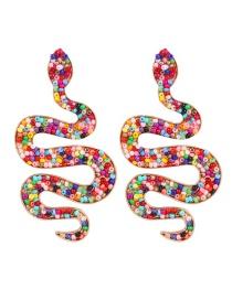 Fashion Color Snake Bead Earrings Reviews