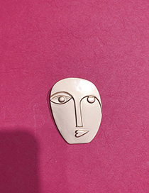 Broche De Retrato En Relieve