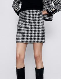 Minifalda De Pata De Gallo