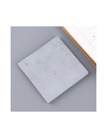 Fashion Cement Grey-large Cement Gray Sticky Tearable Convenient Sticker