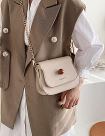 Fashion White Chain Shoulder Bag