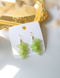 Fashion Green Grape Earrings