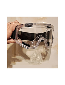 Fashion Transparent Anti-fog Fully Enclosed Anti-fog Wind And Sand Protection Goggles