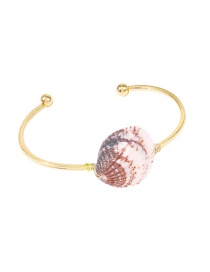Fashion Conch Alloy Shell Conch Opening Bracelet