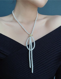 Fashion White Pearl Necklace